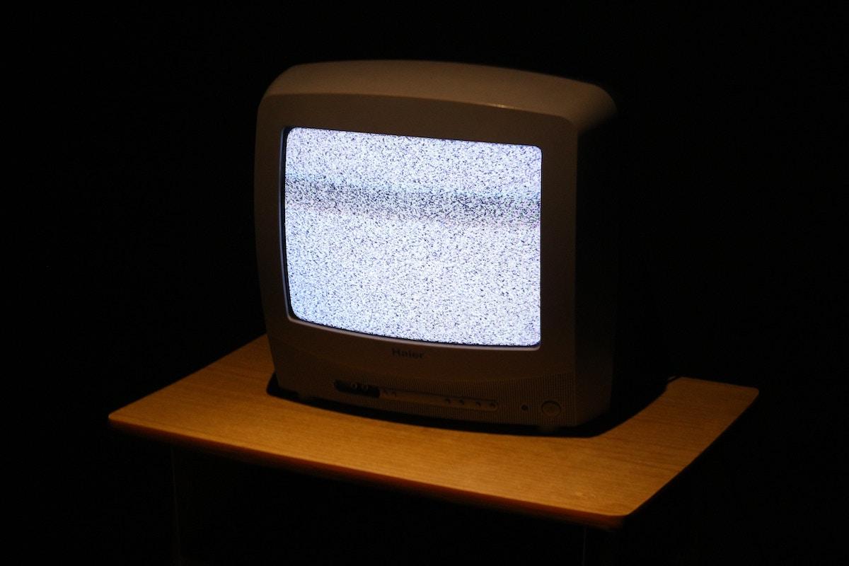 砂嵐のテレビ